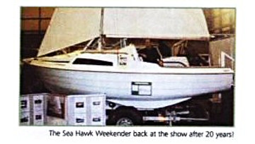Photograph of SeaHawk from Show Report