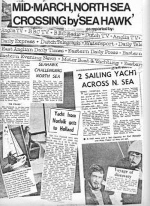 SeaHawk Press Cuttings