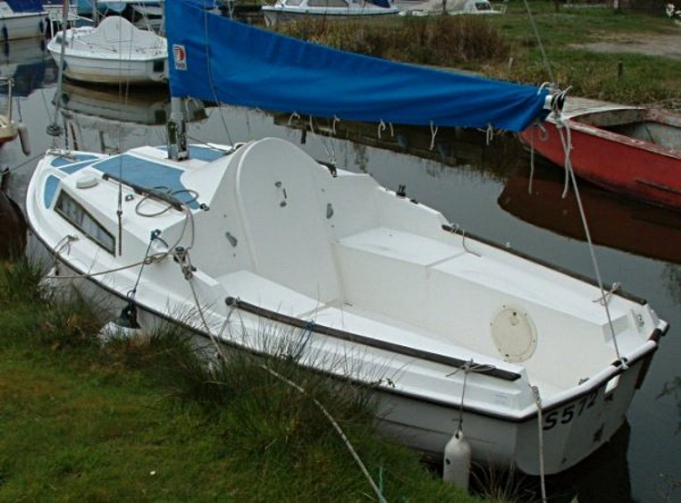 SeaHawk #412, moored at Whispering Reeds Yard