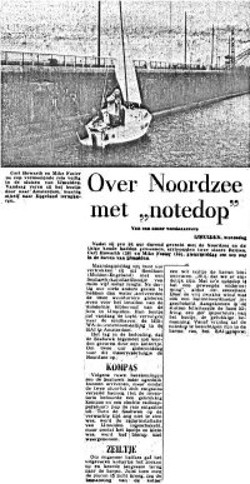 Dutch Newspaper Cutting